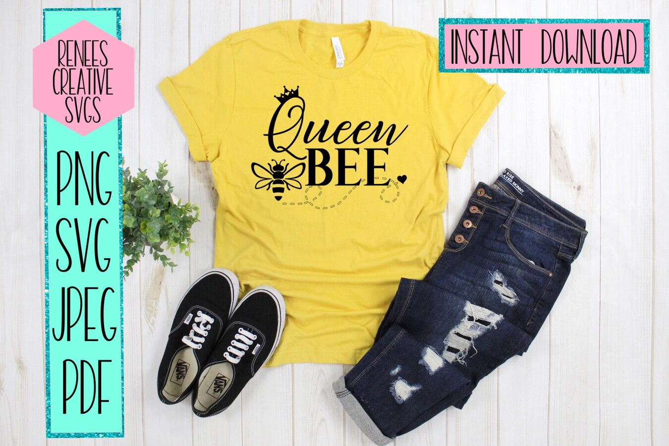 Queen Bee Humor Svg Svg Cutting File By Renee S Creative Svg S