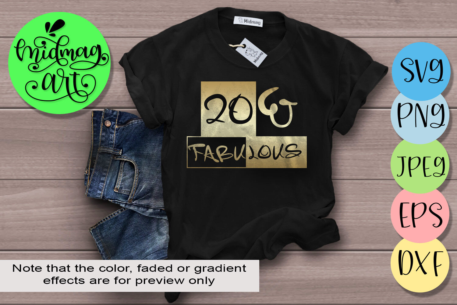 20 And Fabulous Svg 20th Birthday Svg By Midmagart