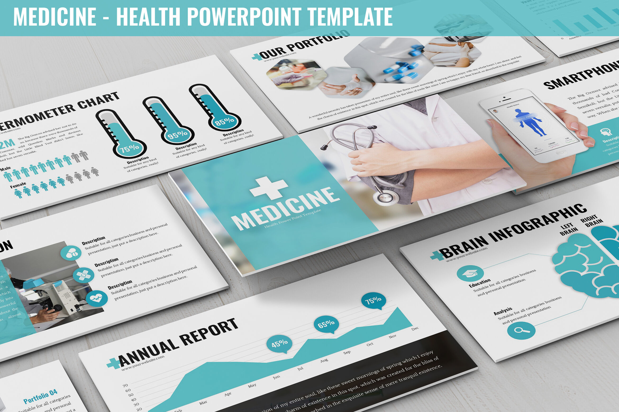 Medicine Healthcare Powerpoint Template By Slidefactory