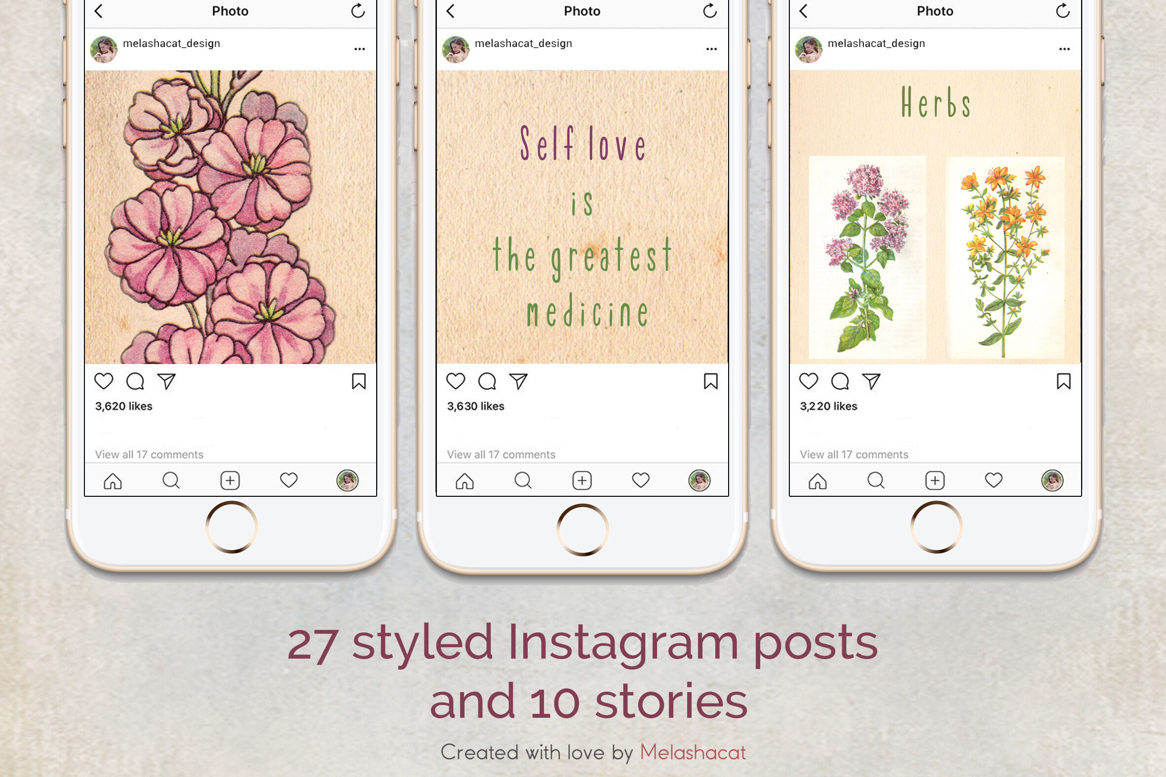 Botany Instagram Puzzle Template 10 Instagram Stories By