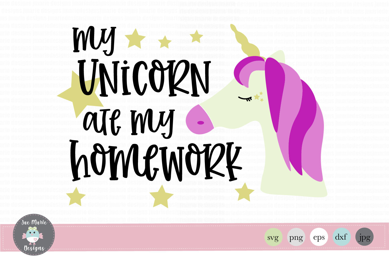 Unicorn Svg Unicorn Back To School Svg Unicorn Back To School Svg