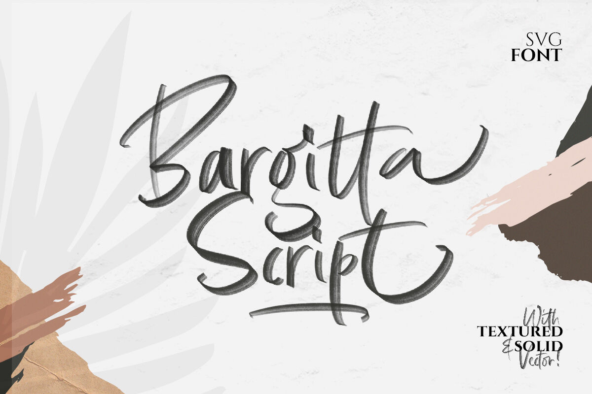 Bargitta Script Svg Font By Letterhend Thehungryjpeg Com