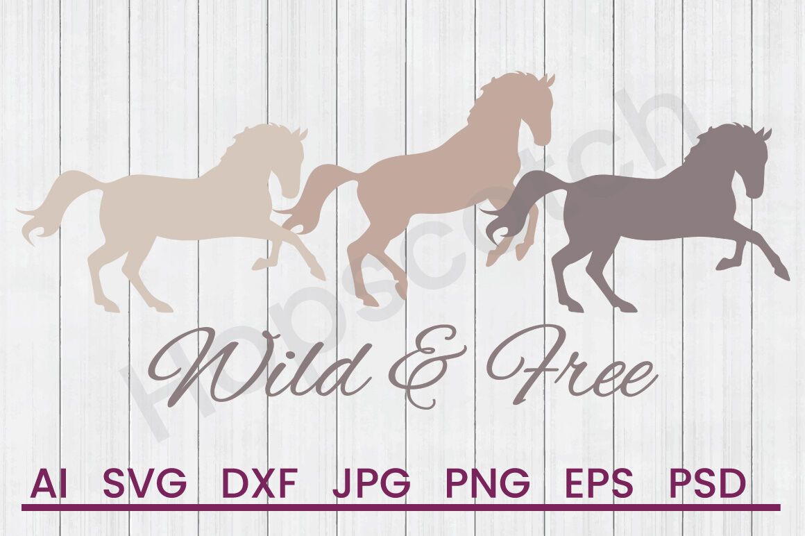 Wild Free Svg File Dxf File By Hopscotch Designs