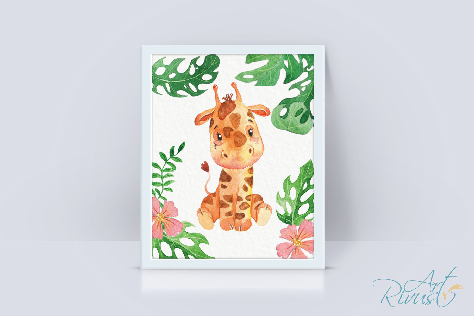 It's just a photo of Printable Safari Animals intended for nursery