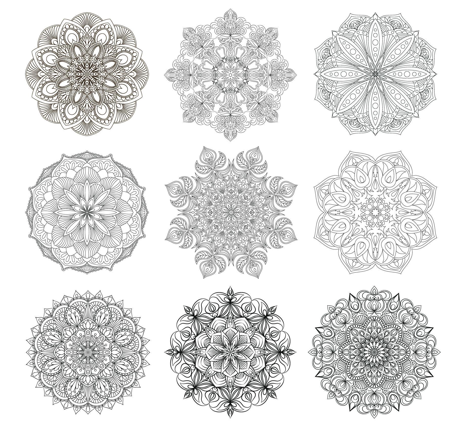 Mandalas Collection By Mashot