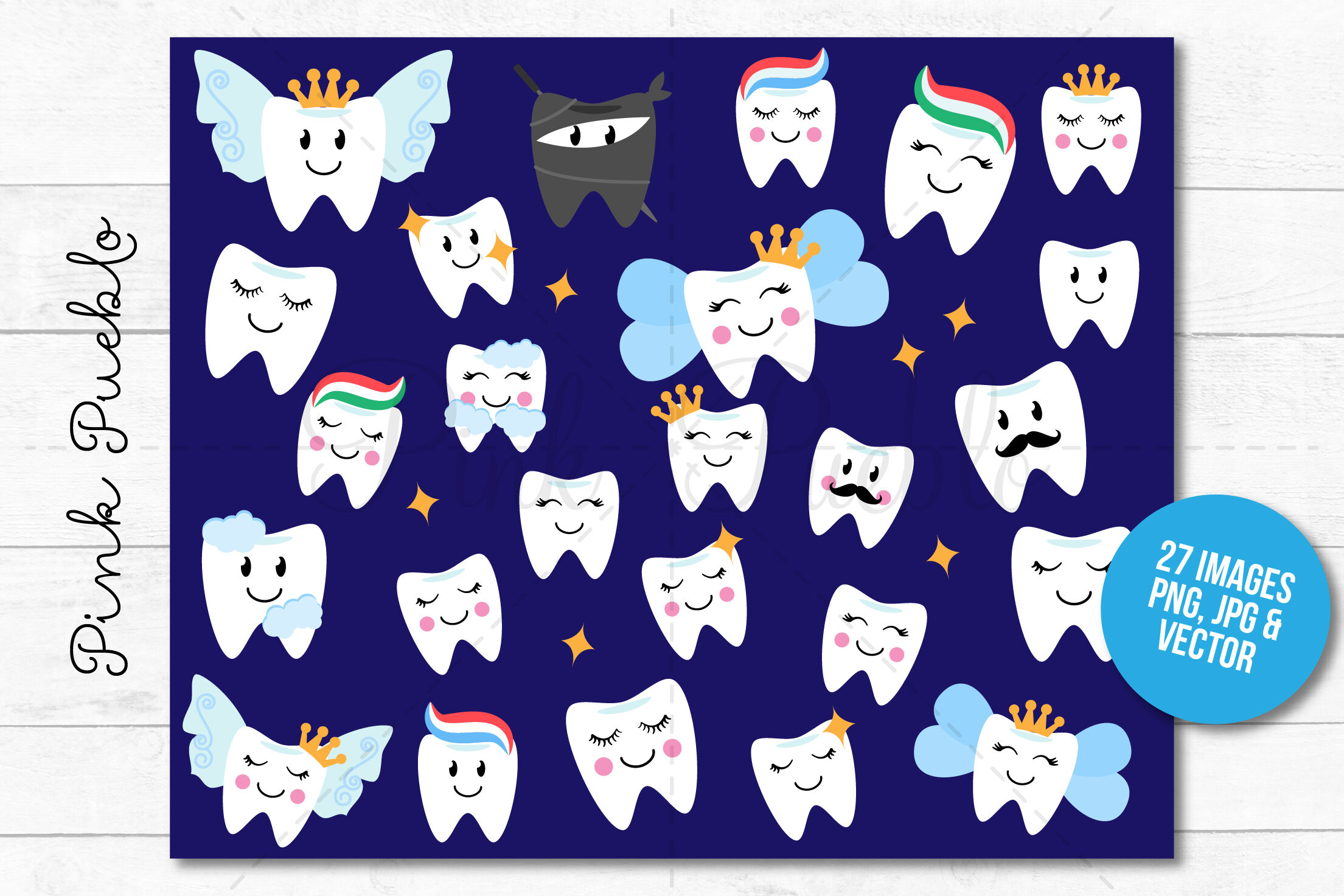 Tooth Fairy Clipart and Vectors By Devon Carlson ... (2209 x 1473 Pixel)
