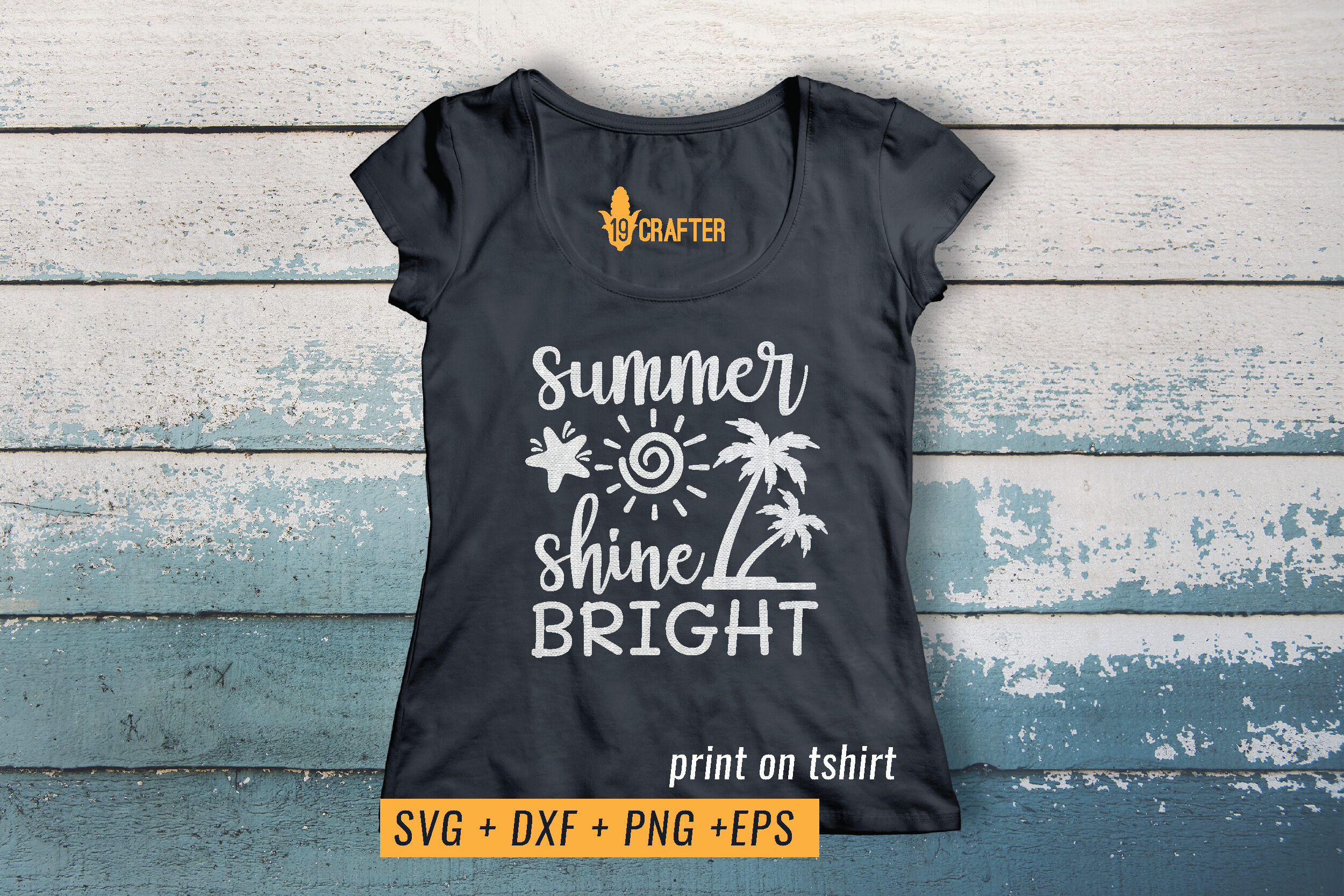 Summer Sun Shine Bright Svg Printable File By Greatype19
