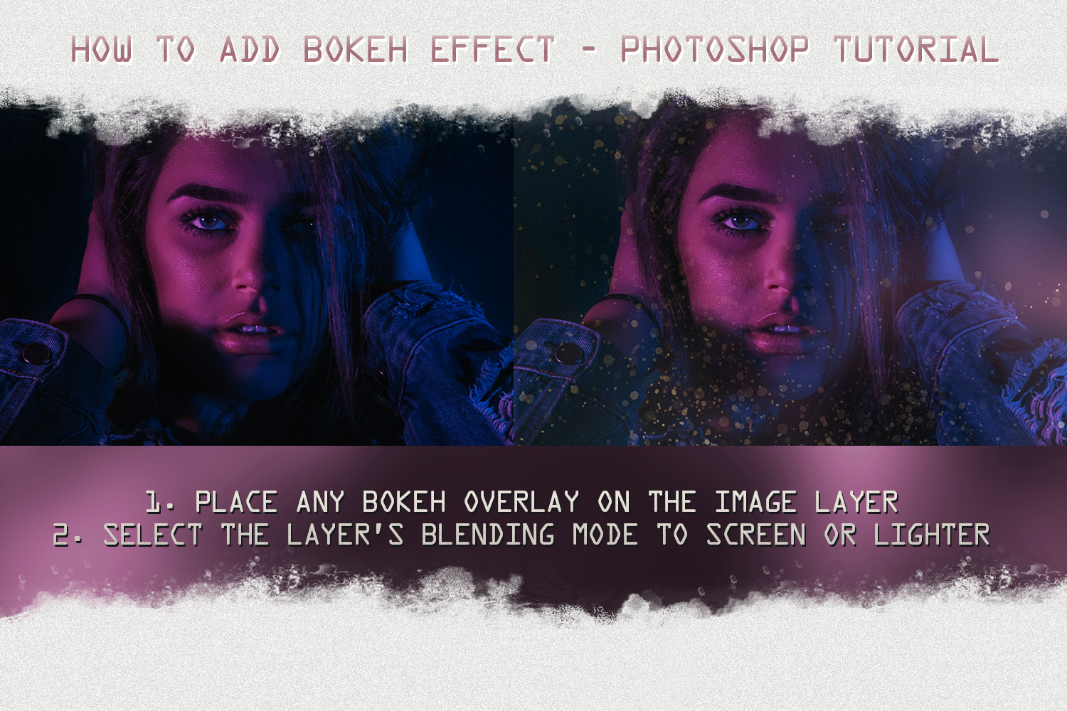 Bokeh overlays space cosmos effects filter glitter By 2SUNS