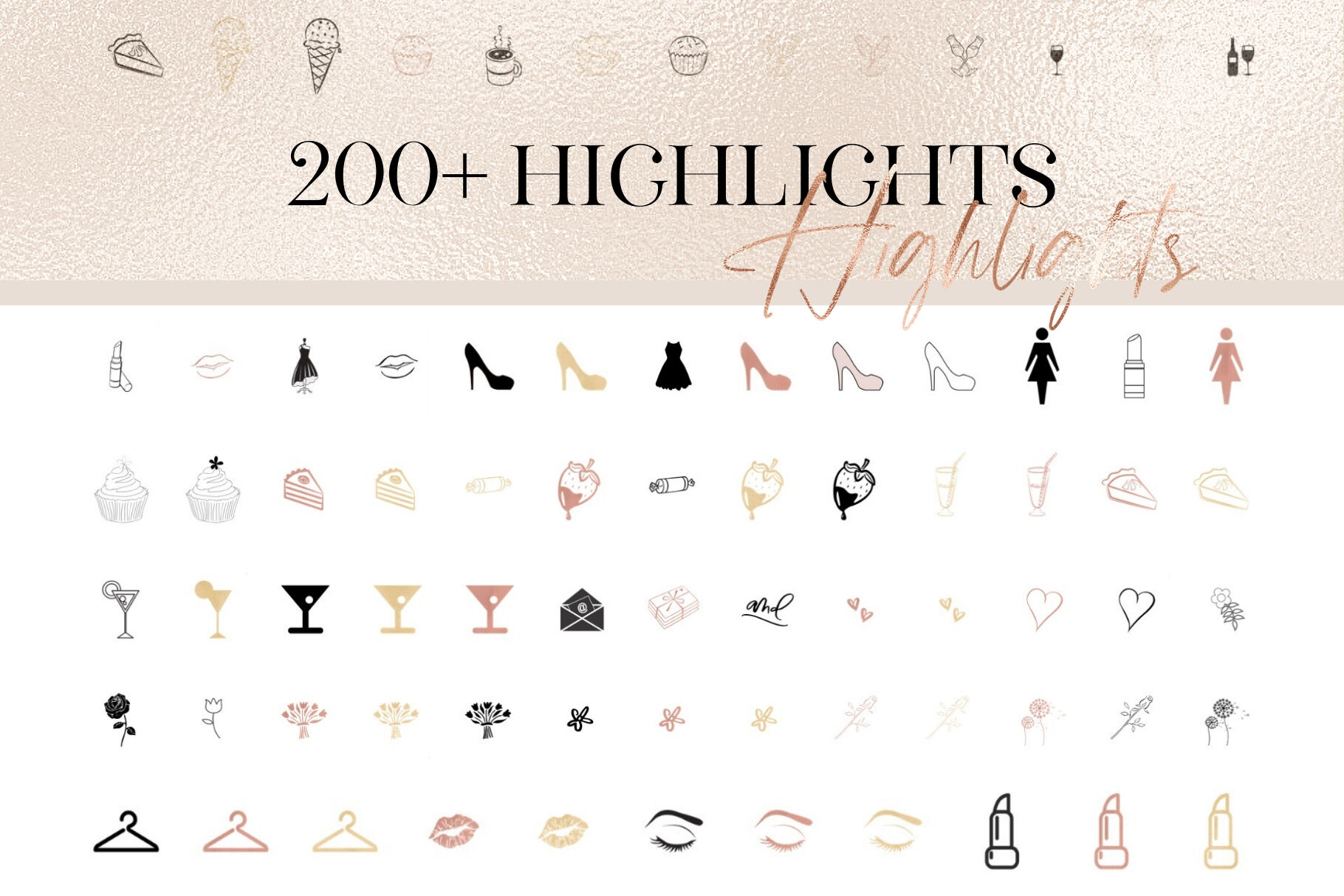 Instagram Highlight Icons Transparent By Creative Stash