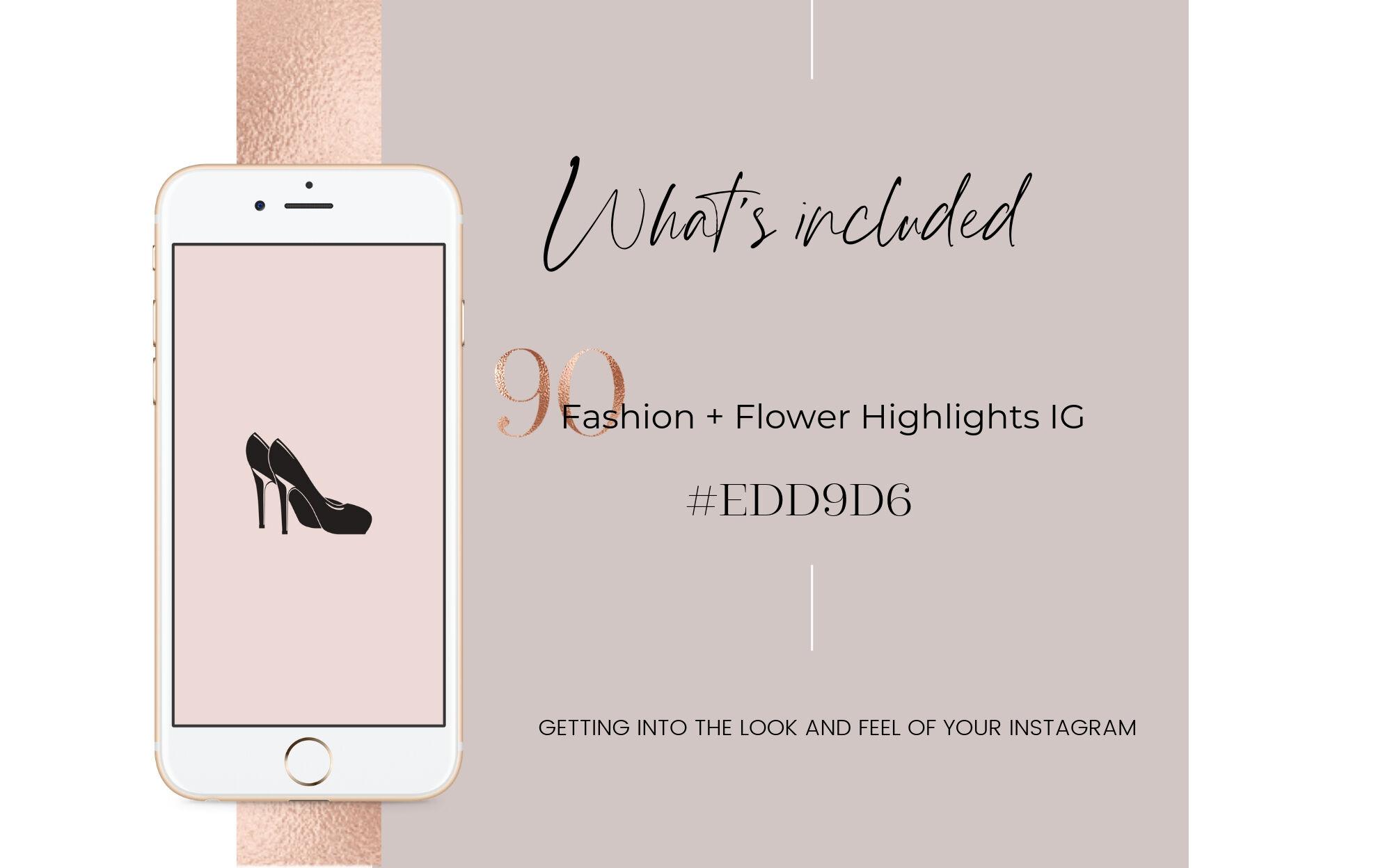Feminine Highlights Ig Fashion Flower Highlights Ig By