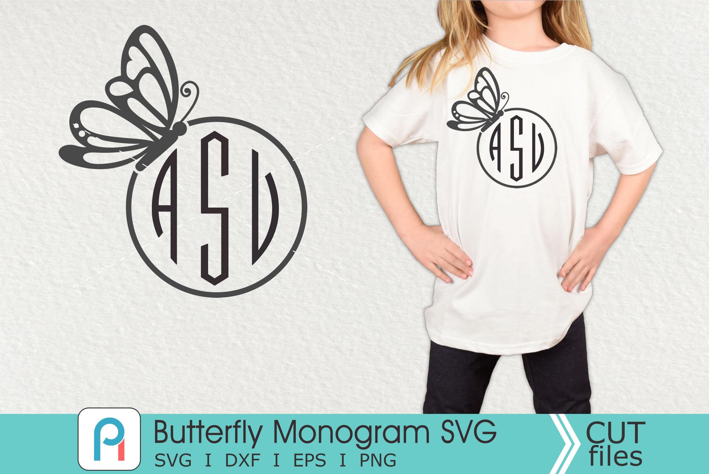 Butterfly Monogram Svg Butterfly Svg Butterfly Clip Art By