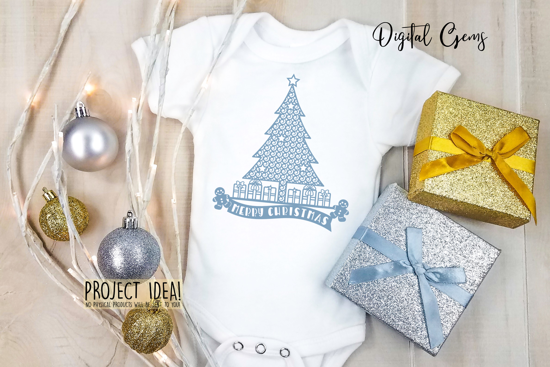 Christmas Tree Papercut Design By Digital Gems Thehungryjpeg Com