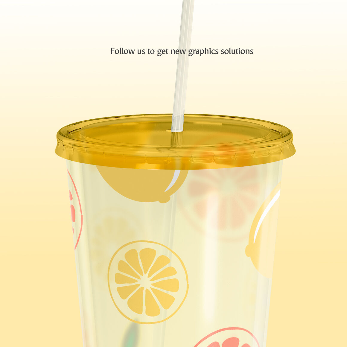 Download 4 Plastic Cups Matte Paper Pack Mockup Front View Yellowimages