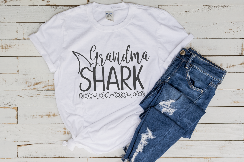 Grandma Shark Svg By Morgan Day Designs Thehungryjpeg Com
