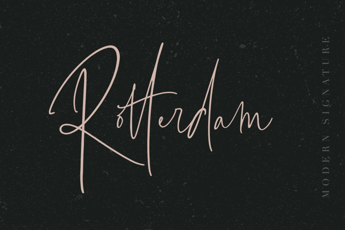 Bottomland Family Signature Script By Dharmas Thehungryjpeg Com