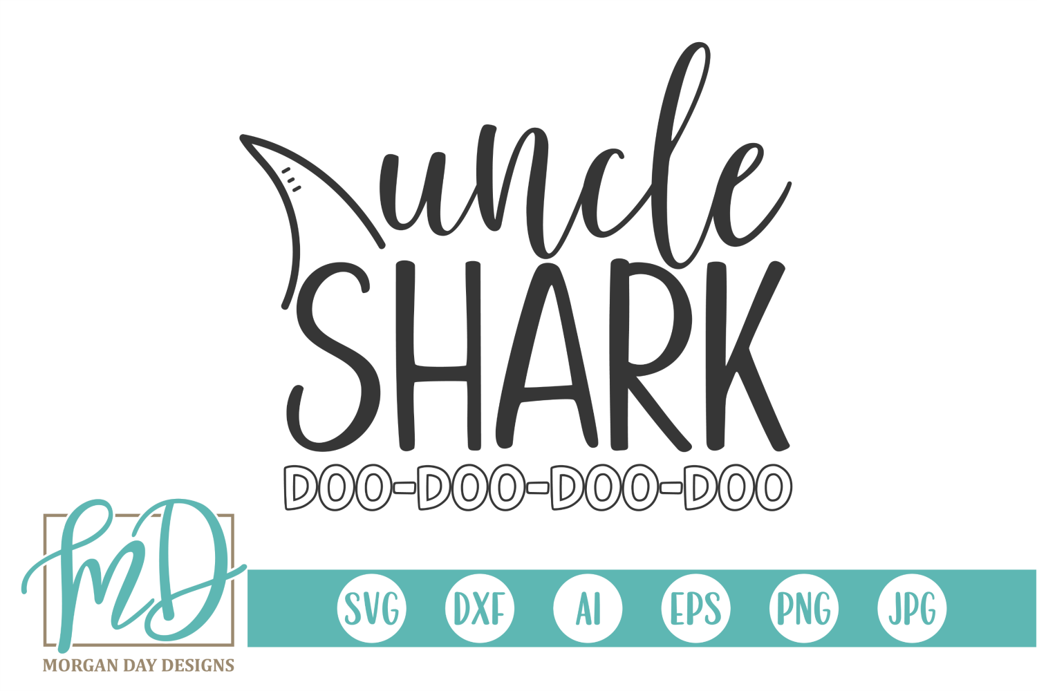 Uncle Shark Svg By Morgan Day Designs Thehungryjpeg Com