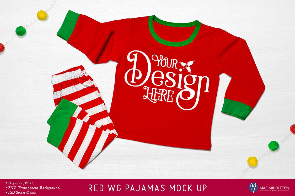 Christmas Mock Up Holiday Pajamas By Mae Middleton Studio