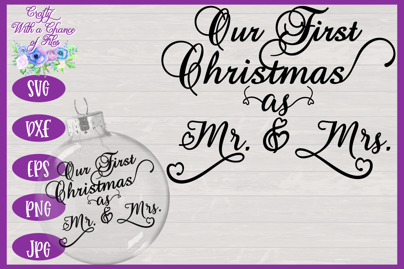 Download Our First Christmas Svg Image