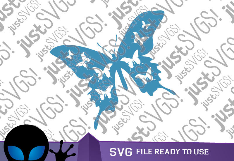 Flying Butterfly Svg By Justsvgs Thehungryjpeg Com