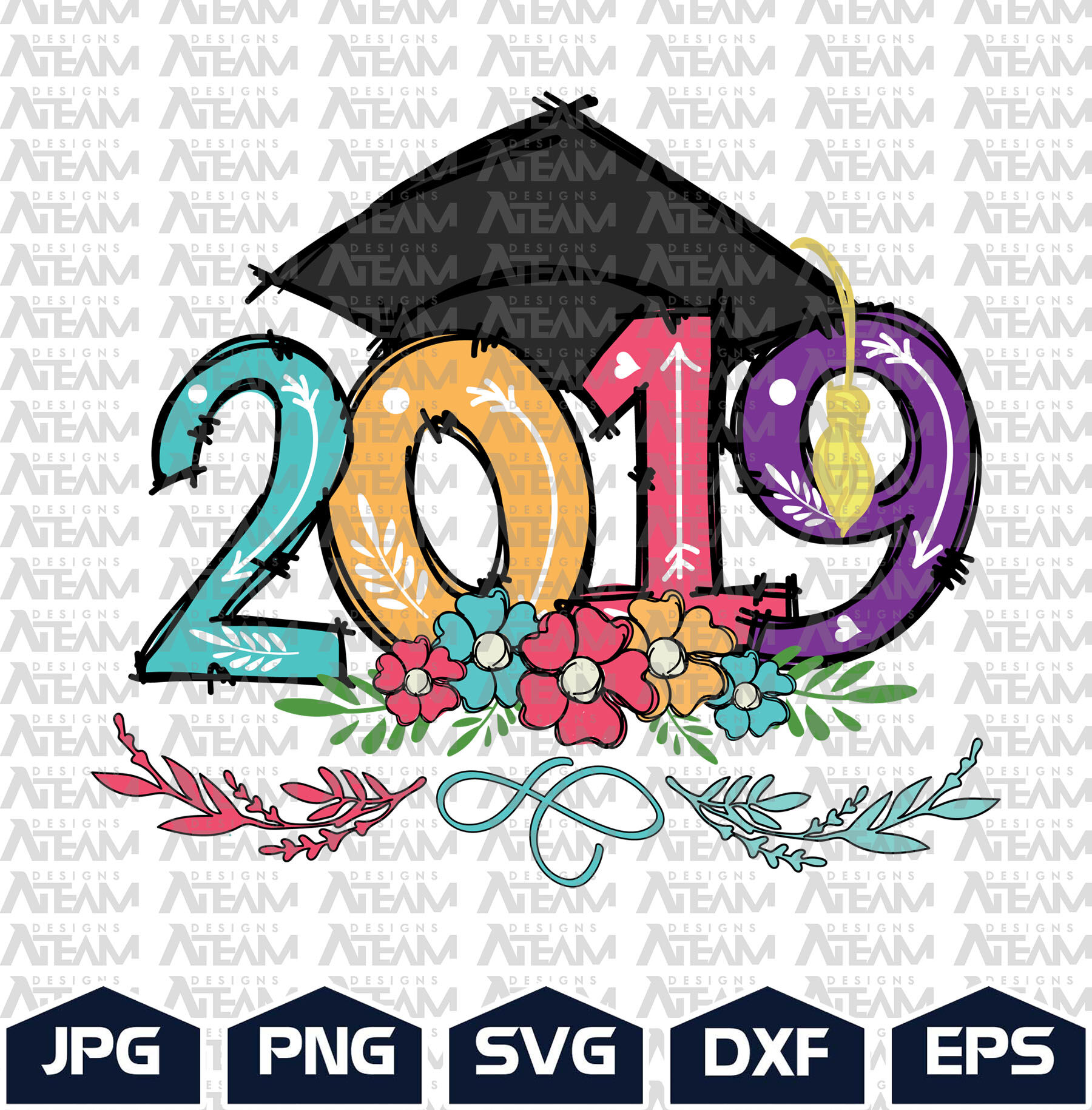 Happy Graduation Day 2019 Png Graduation Png By Lupinart