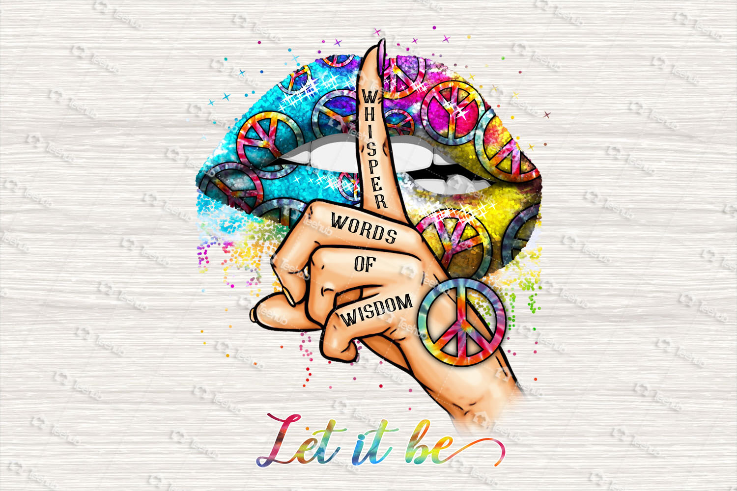 Whisper Words Of Wisdom Let It Be Png Hippie Png Hippie Peace