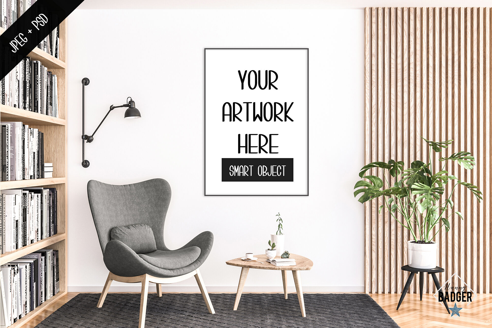 Download A Frame Psd Mockup Yellow Images