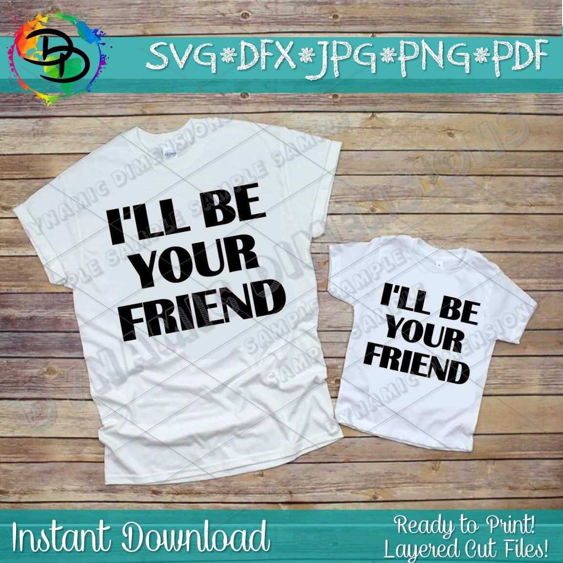 I Ll Be Your Friend Shirt Friend Svg Anti Bullying Frind Quote