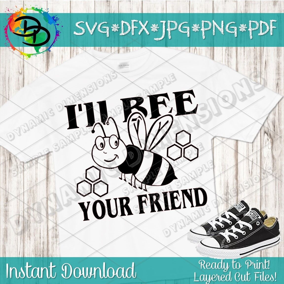 I Ll Be Your Friend Bee Svg Bumblebee Svg Bee Svg Be Kind Svg
