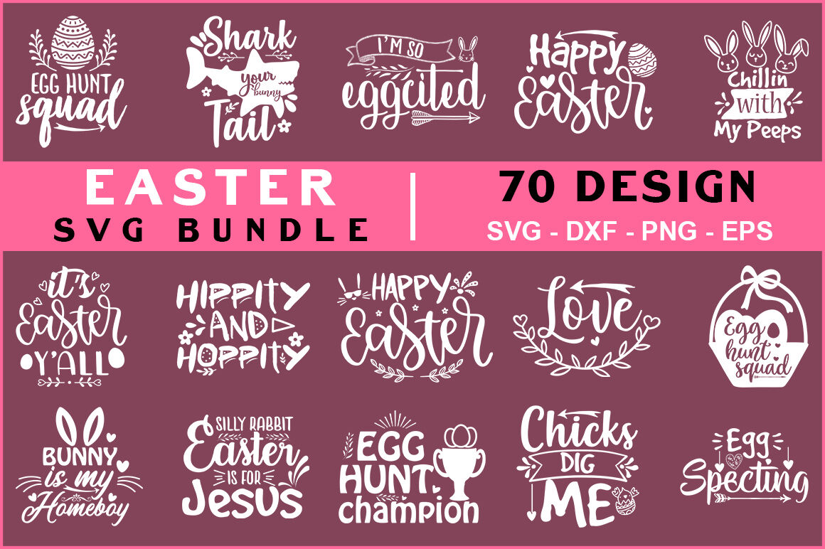 Easter Svg Mega Bundle By Teewinkle Thehungryjpeg Com