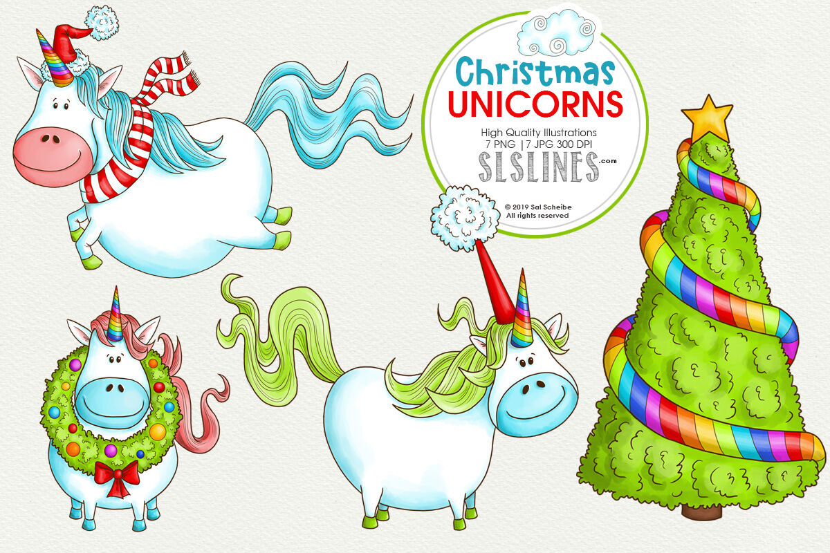 Big Christmas Clipart Bundle By Sls Lines Thehungryjpeg Com