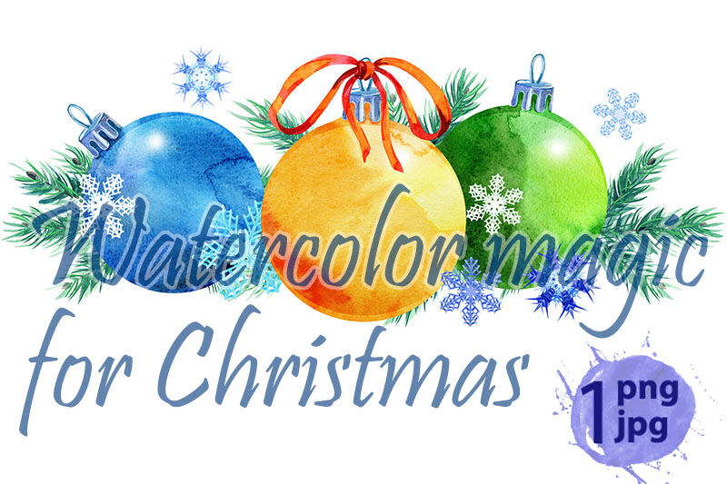 Watercolor Christmas Tree Border For Your Creativity By Watercolor