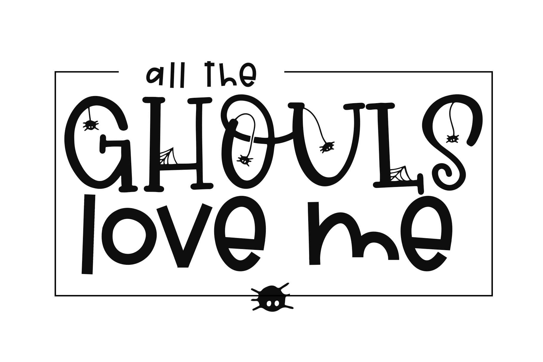 Hey Boo - A Quirky Halloween Font By KA Designs