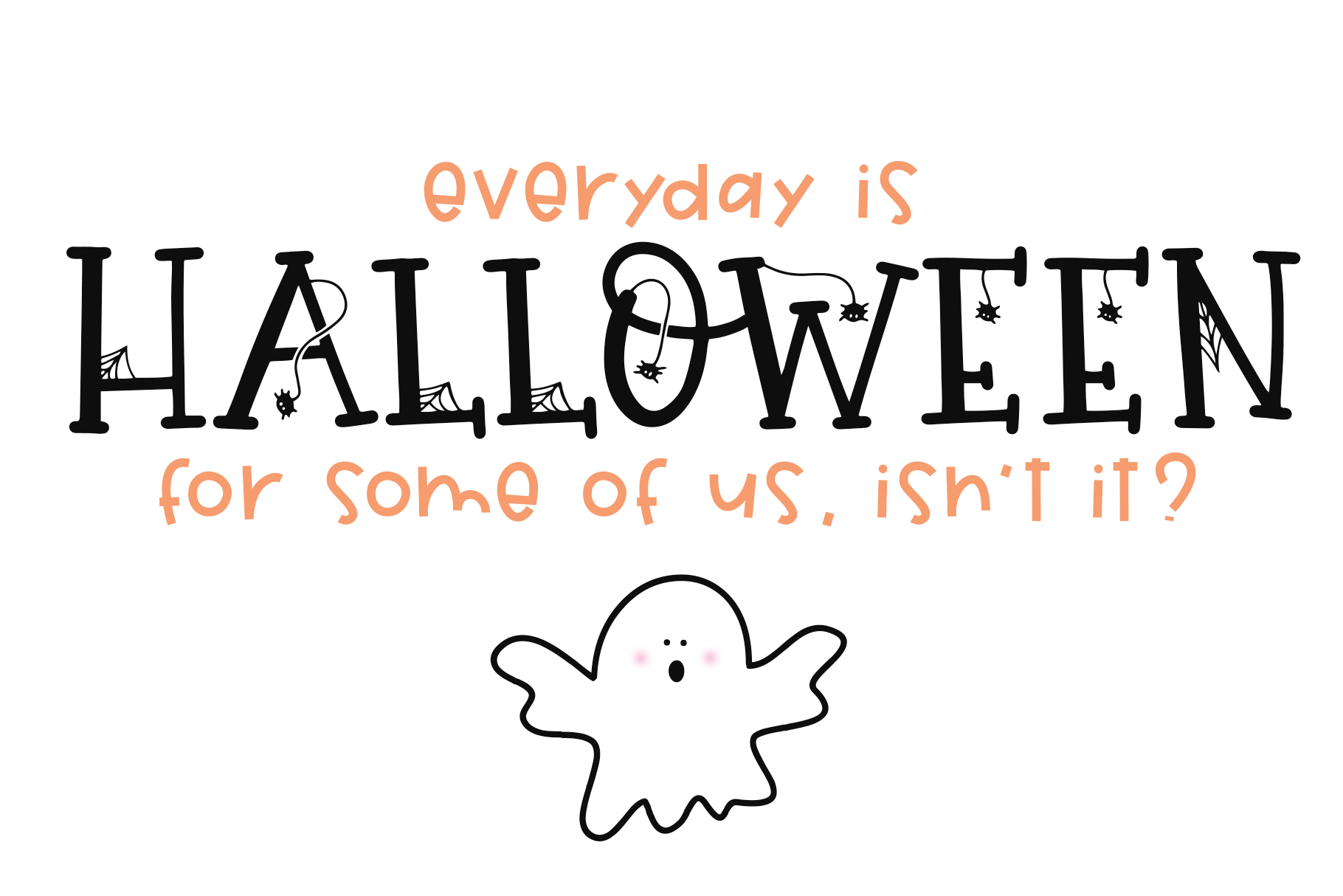 Hey Boo A Quirky Halloween Font By Ka Designs Thehungryjpeg Com