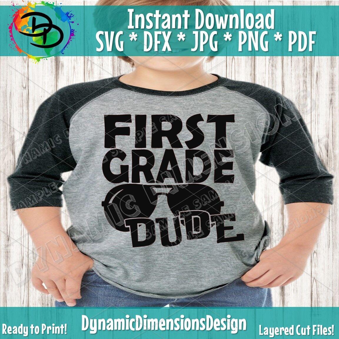 First Grade Svg 1st Grade Shirt First Day Svg Girl Svg Back To