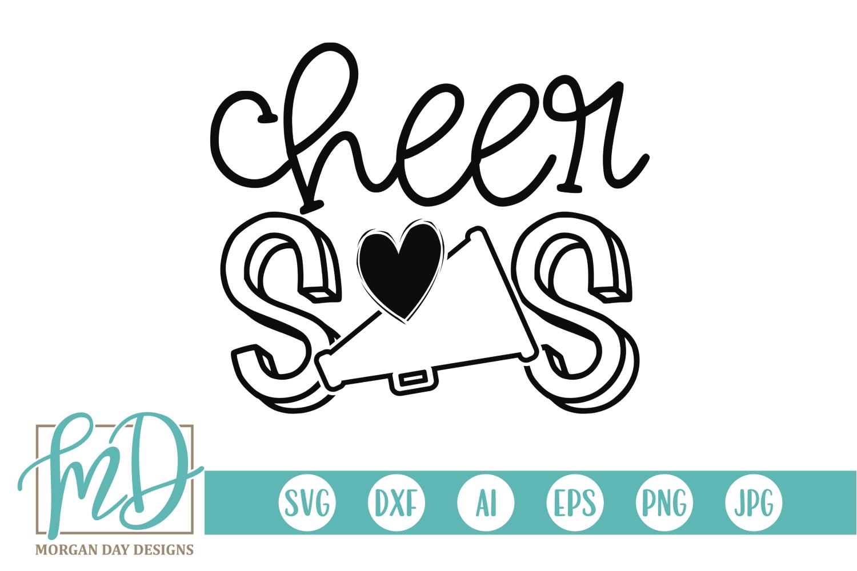 Cheer Sis Svg By Morgan Day Designs Thehungryjpeg Com