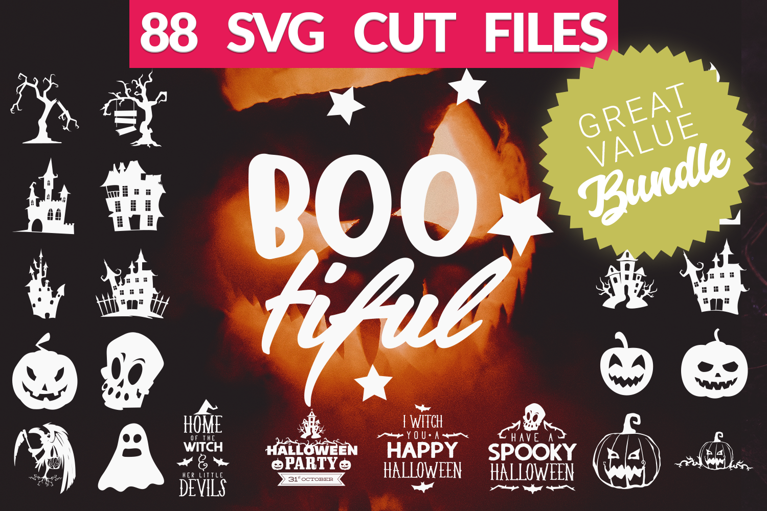 Halloween Svg Bundle Halloween Quotes Svg Cut Files By Craft N