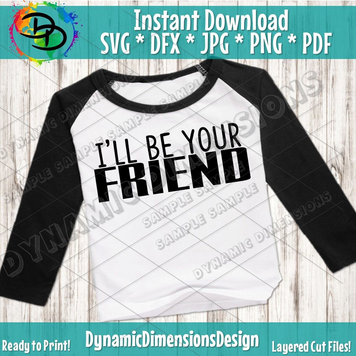 I Ll Be Your Friend Shirt Back To School Friend Svg Anti