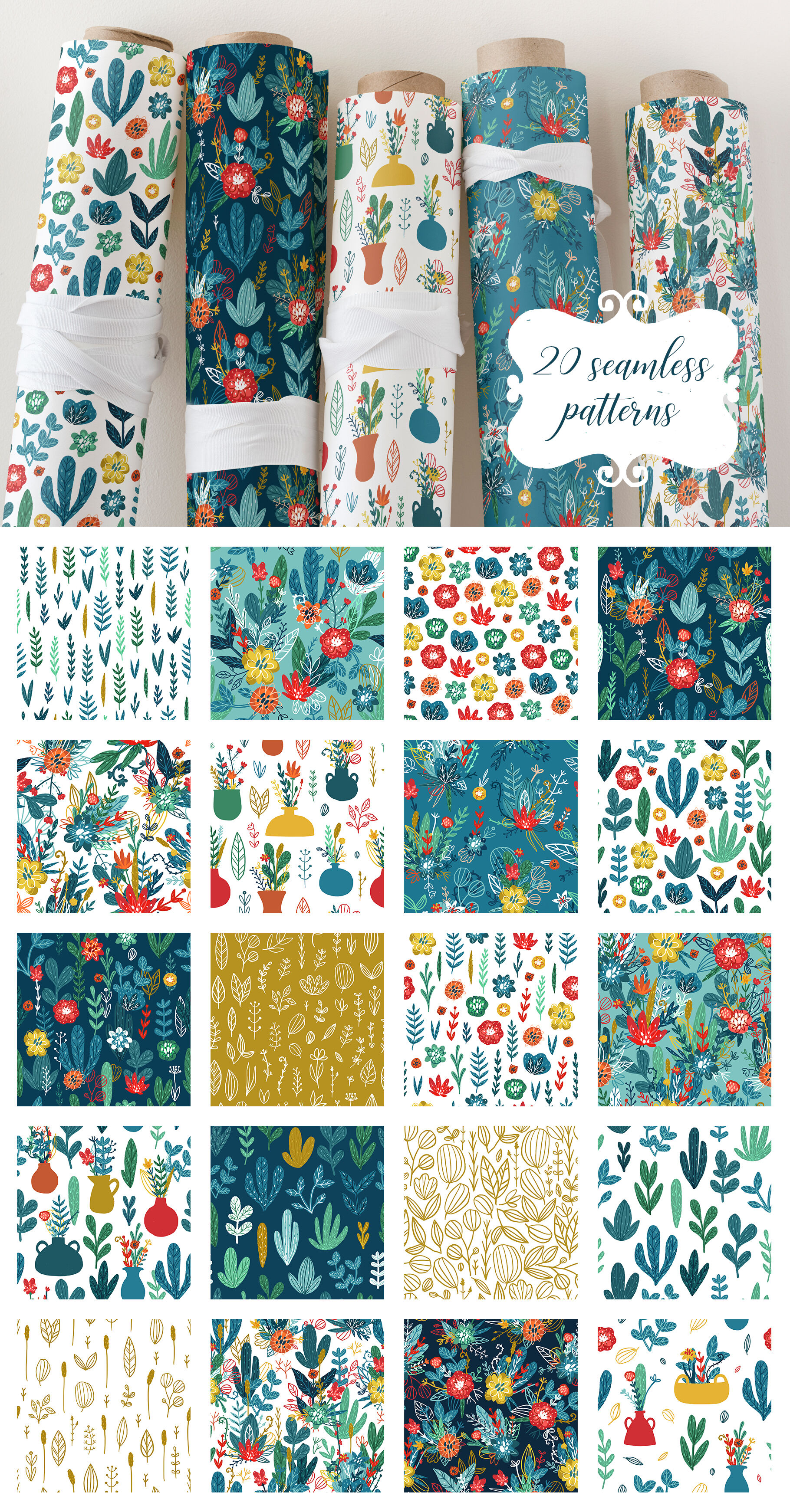 Lovely Garden Hand Drawn Clipart By Qilli Design Thehungryjpeg Com