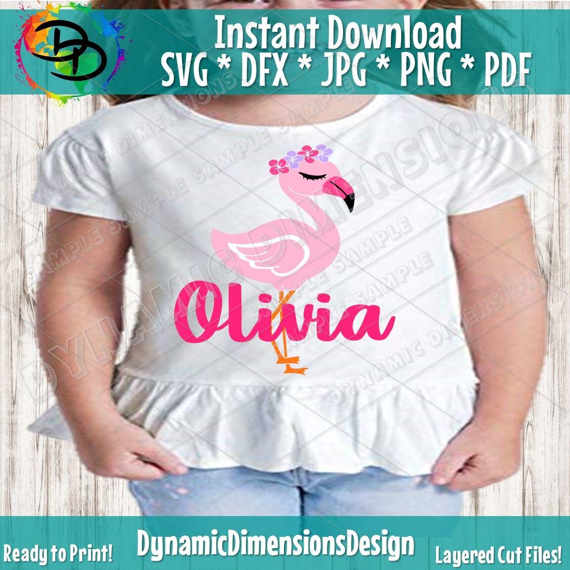 Flamingo SVG, Flamingo Clipart, Flamingo Birthday SVG ...