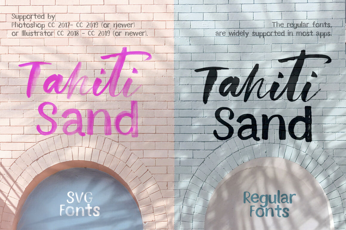 Tahiti Sand Fonts And Graphics Sale By Red Ink Thehungryjpeg Com