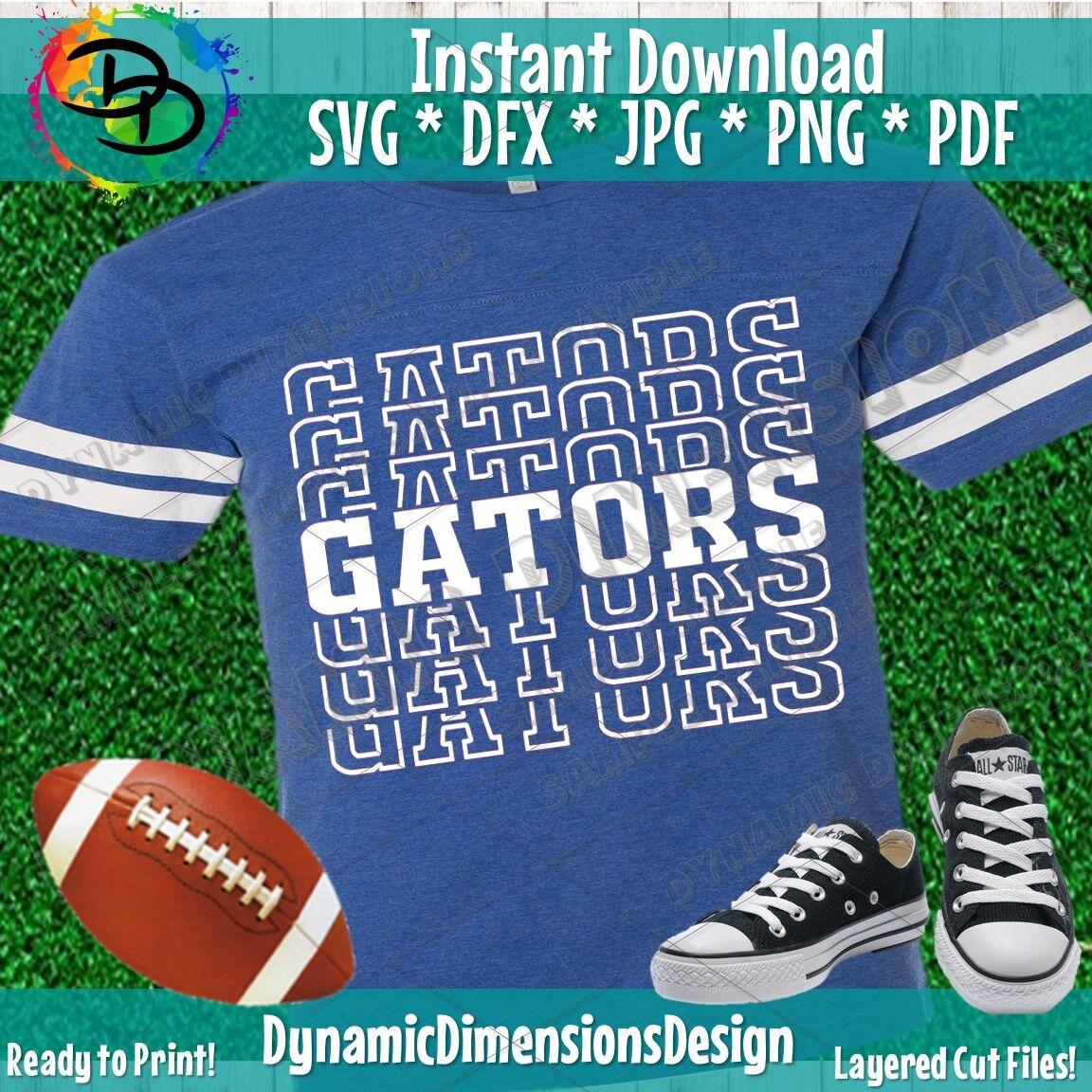 Gators Svg Gator Svg Football Team Svg Florida Svg Football
