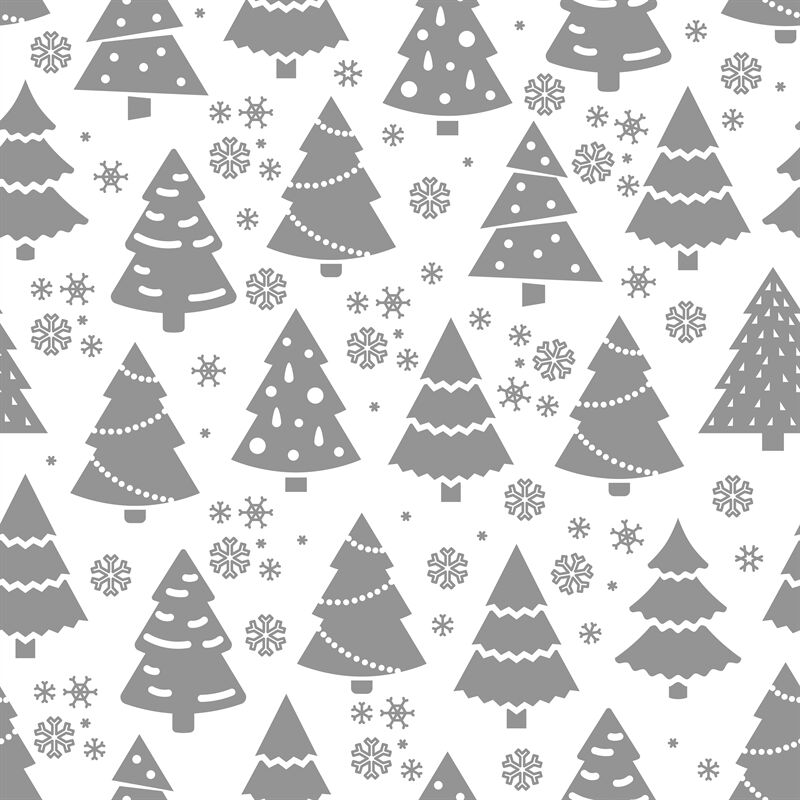 Abstract Christmas Tree Seamless Pattern Winter Seamless Texture
