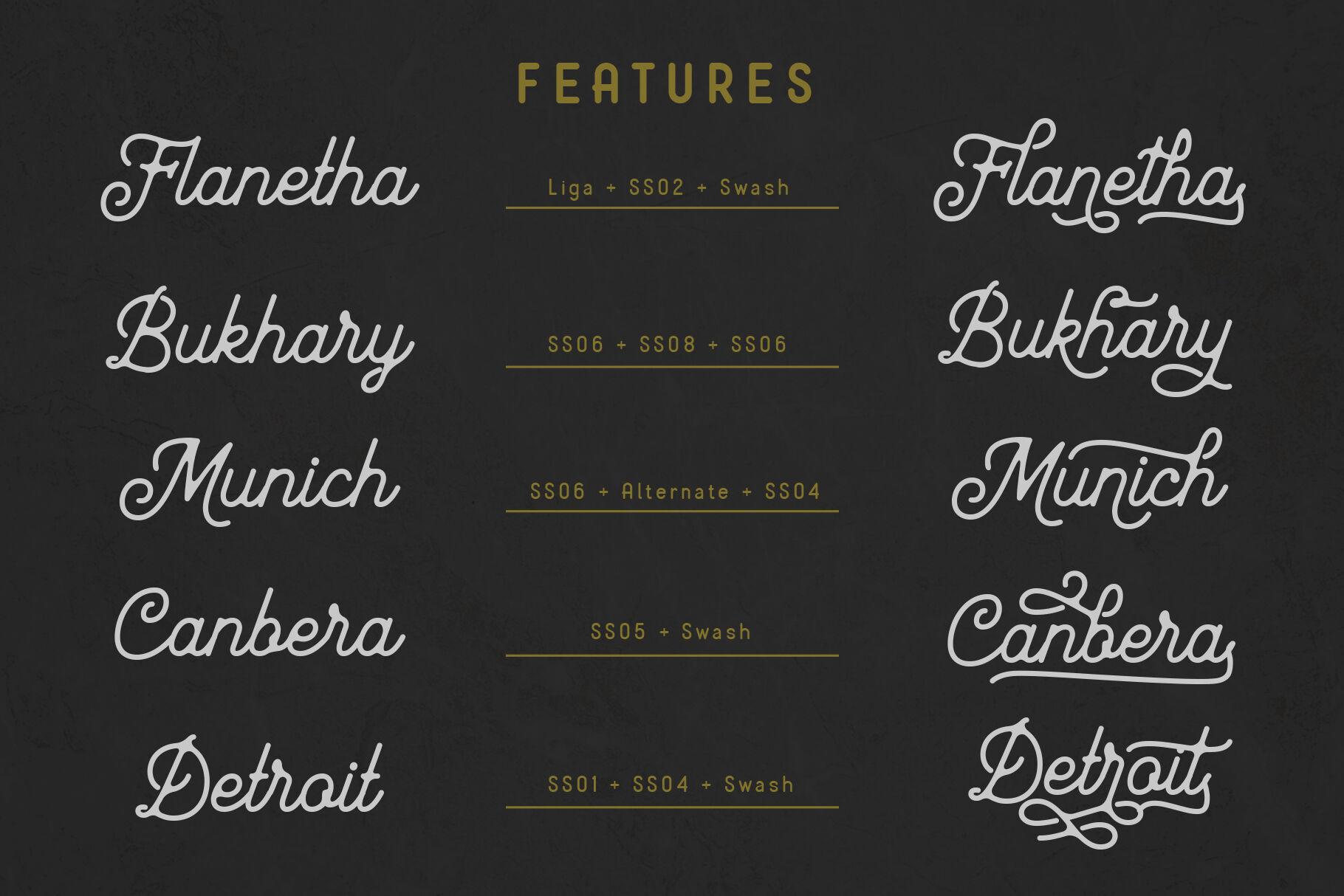 Mayhena Monoline Font By Arterfak Project Thehungryjpeg Com