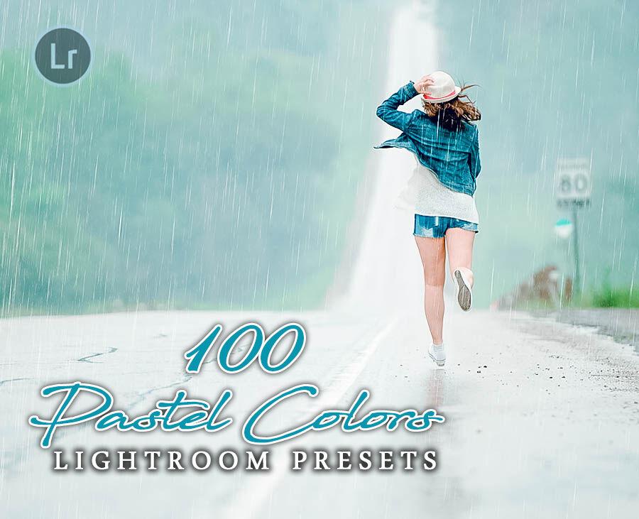 100 Pastel Colors Lightroom Presets For Photographer Designer