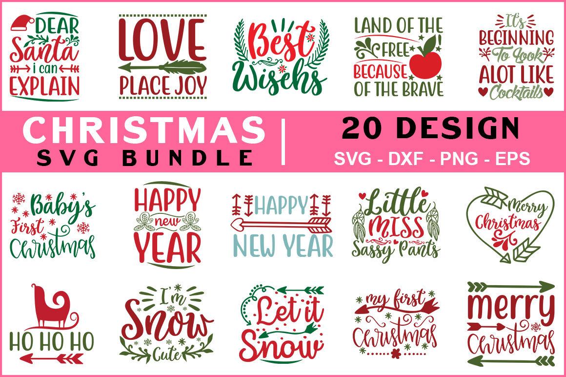 Christmas Svg Bundle Vol 02 By Teewinkle Thehungryjpeg Com
