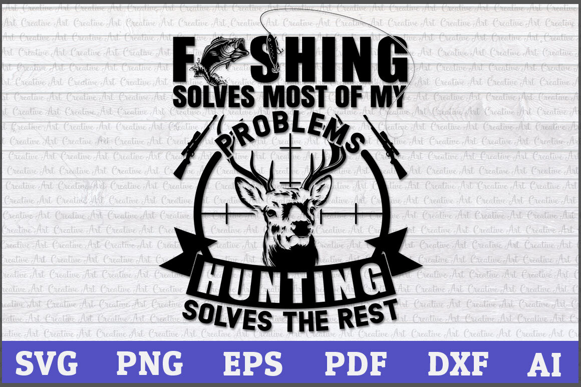Download Hunting And Fishing Svg Free