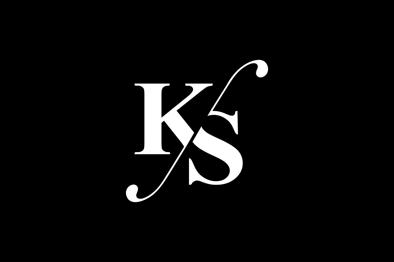 Ks Monogram Logo Design By Vectorseller Thehungryjpeg Com
