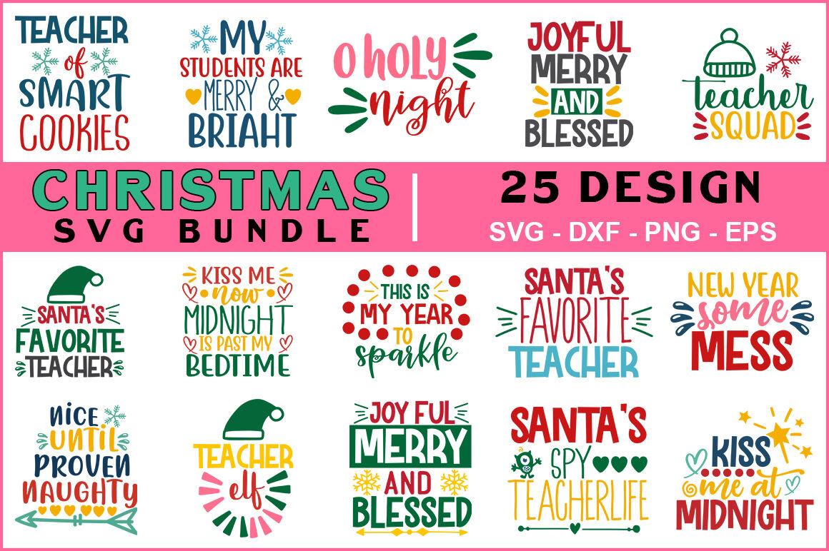 Christmas Svg Bundle Vol 12 By Teewinkle Thehungryjpeg Com