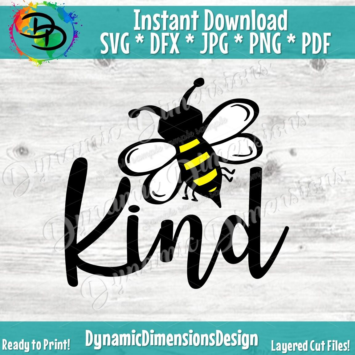 Bee Kind Svg Be Kind Svg Kindness Matters Svg Kindness Is