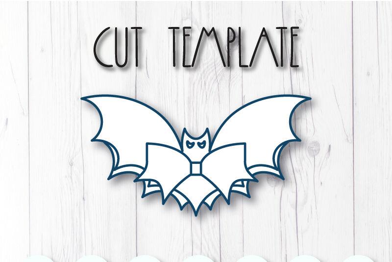 Bat Hair Bow Template Svg Dxf Pdf With Diy Tutorial By Artiteki